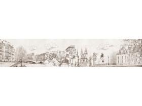 Абстракция 20 Зарисовка города
